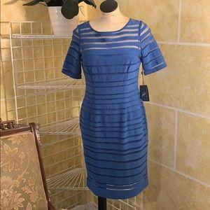 NWT Adrianna Parnell Blue Dress